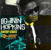 Album artwork for Lightnin' Strikes (+Lightnin' Hopkins )