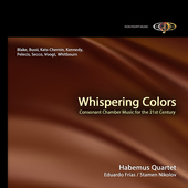 Album artwork for Habemus Quartet. Whispering Colors