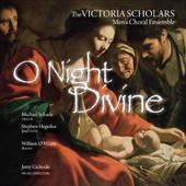 Album artwork for O Night Divine / Schade, Victoria Scolars