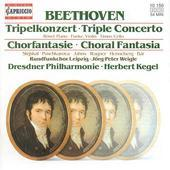 Album artwork for BEETHOVEN - TRIPLE CONCERTO / CHORAL FANTASIA