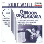 Album artwork for Kurt Weill: O Moon of Alabama