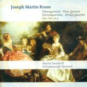 Album artwork for Joseph Martin Kraus: Flute Quintet / String Quarte