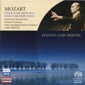 Album artwork for Mozart: Violin Concerto no. 5 / Piano Concerto no.