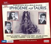Album artwork for Gluck: Iphigenie auf Tauris (Gedda, Prey, Keilbert