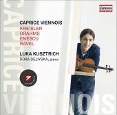 Album artwork for Caprice Viennois - Kreisler, Brahms, Ravel, Enescu