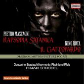 Album artwork for Mascagni: Rapsodia satanica & Rota: Il gattopardo