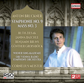 Album artwork for Bruckner: Symphony No. 9 & Mass No. 3