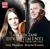 Album artwork for Zani: Divertimenti for Violin & Cello