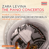 Album artwork for Levina: The Piano Concertos