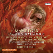 Album artwork for Reger: Orchestral Songs