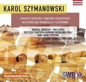 Album artwork for Szymanowski: Concert Overture - Symphony No. 4 - N