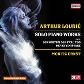 Album artwork for Lourié: Solo Piano Works