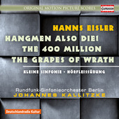 Album artwork for Hanns Eisler: Film Music