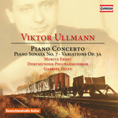 Album artwork for Ullmann: Piano Concerto, Piano Sonata No. 7 & Vari