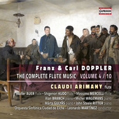 Album artwork for F. & K. Doppler: The Complete Flute Music, Vol. 4
