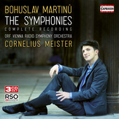 Album artwork for Martinu: The Symphonies / Meister