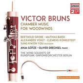 Album artwork for Bruns: Chamber Music For Woodwinds