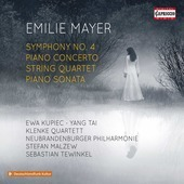 Album artwork for Mayer: Symphony No. 4, Piano Concerto, String Quar
