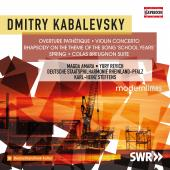 Album artwork for Kabalevsky: Pathétique Overture, Violin Concerto,