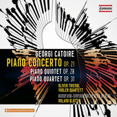 Album artwork for Georgy Catoire: Piano Concerto - Piano Quintet - P