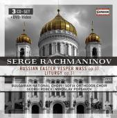 Album artwork for Rachmaninov: Vespers Op. 37, Liturgy Op. 31
