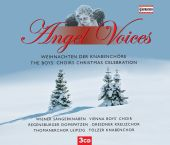 Album artwork for Angel Voices - The Boys' Choirs Christmas Celebra