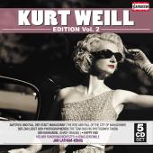 Album artwork for KURT WEILL EDITION, VOLUME 2