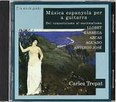 Album artwork for Music espanyola per a guitarra: Del romanticisme a