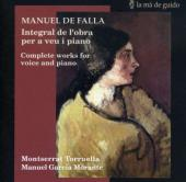 Album artwork for De Falla: Complete Works fo Piano and Voice