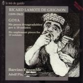 Album artwork for Ricard Lamote de Grignon: Goya