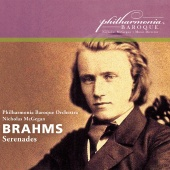 Album artwork for Brahms: Serenades 1, 2 / McGegan