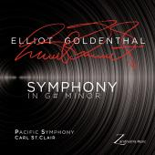 Album artwork for Goldenthal: Symphony in G# Minor