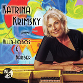 Album artwork for Katrina Krimsky plays Villa-Lobos and Barber
