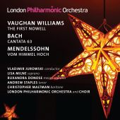 Album artwork for Vaughan Williams: The First Nowell / Bach: Cantata