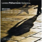 Album artwork for Brahms: Symphony no. 1 / Symphony no. 3 - Tennsted