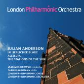 Album artwork for Julian Anderson: In lieblicher Blaue, Alleluia & T