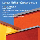 Album artwork for Stravinsky: Petrushka, Symphonies of Wind Instrume