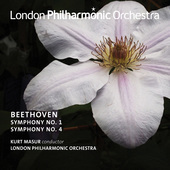 Album artwork for Beethoven: Symphonies Nos. 1 & 4