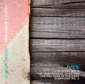 Album artwork for Ives: Symphonies Nos. 3 & 4, The Unanswered Questi
