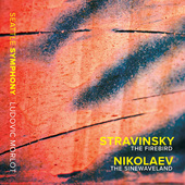Album artwork for Stravinsky: The Firbird - Vladimir Nikolaev: The S