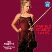 Album artwork for Viola Concertos by Martinu, Stamitz, Lukas