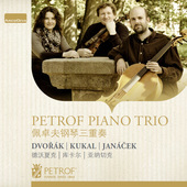 Album artwork for Dvorák, Janácek & Kukal: Works for Piano Trio