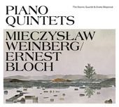 Album artwork for BLOCH & WEINBERG: PIANO QUINTETS