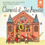 Album artwork for Carnival of Animals / Cincinnati Pops, Russell