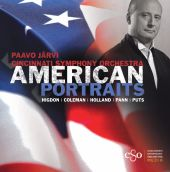 Album artwork for American Portraits / Paavo Jarvi