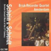 Album artwork for BRISK RECORDER QUARTET AMSTERDAM: SCHEIN & SCHEIDT
