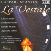 Album artwork for Spontini: La Vestale / Gencer, Bruson, Merolla