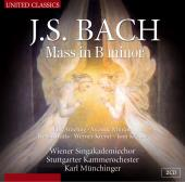 Album artwork for J.S. Bach: MASS IN B MINOR