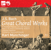 Album artwork for Bach: Great Choral Works / Munchinger