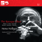 Album artwork for The Baroque Oboe / Heinz Holliger